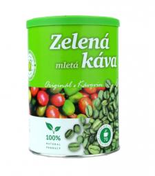 Káva zelená mletá 230 g