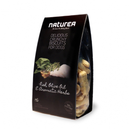 Keksíky - Ryba, Olivový olej a bylinky