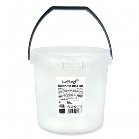 Panenský kokosový olej BIO 5000 ml Wolfberry *
