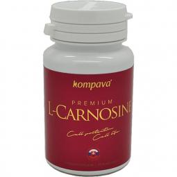 Premium L-Carnosine + Acidofit ako darček! 375 mg/60 kps