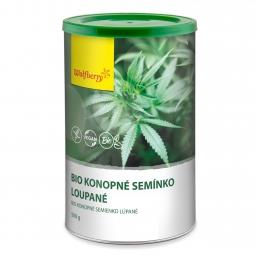 Konopné semienko lúpané BIO 500 g Wolfberry PDZ *