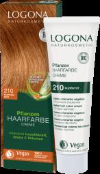 Krémová farba na vlasy copper red - 150ml