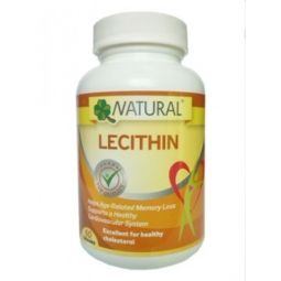 Lecitín 1200 mg, 60 kapsúl