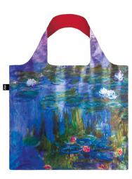 Nákupná taška LOQI Museum, Monet - Water Lilies