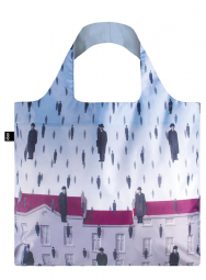 Nákupná taška LOQI Museum, Magritte - Golconda