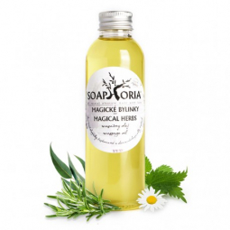 Magické bylinky - organický masážny olej