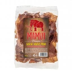 AKCIA SPOTREBA: 06/08/2020 Sušené hovädzie mäso rovno do pusy 25 g Mamut