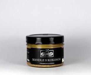 Maslo Mandle s kokosom