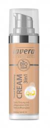 Tónovací hydratačný krém 3v1 Q10 - 03 medová 30 ml