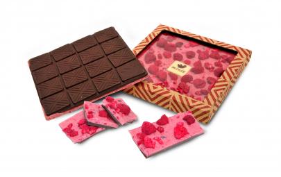 Čokoláda 'Malina dočervena'