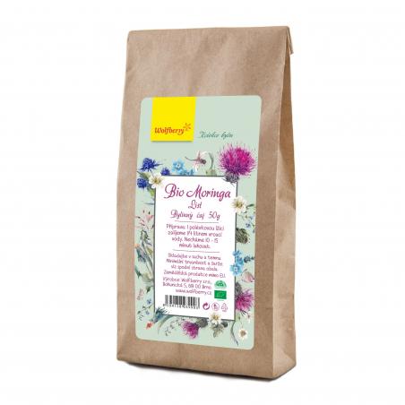 Moringa čaj BIO 50 g Wolfberry