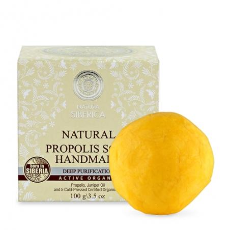 Prírodné ručne robené mydlo s propolisom