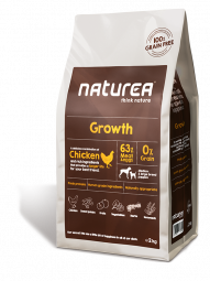 Naturea Growth, 2kg.