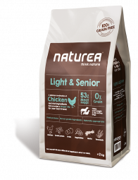 Naturea Light & Senior, 2kg