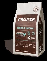 Naturea Light & Senior, 12kg