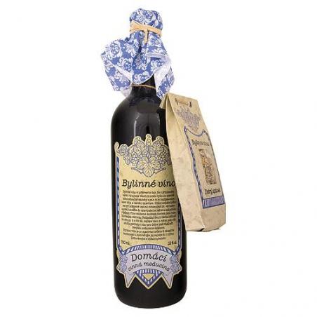 Darčekové Babičkino víno k macerácií 0,75l - dobrý spánok