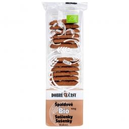 Sušienky špaldové kakaové 100 g BIO