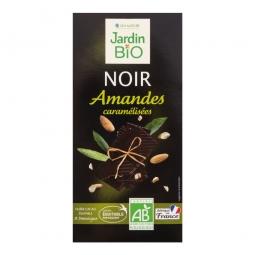 Čokoláda s mandľami 100 g BIO
