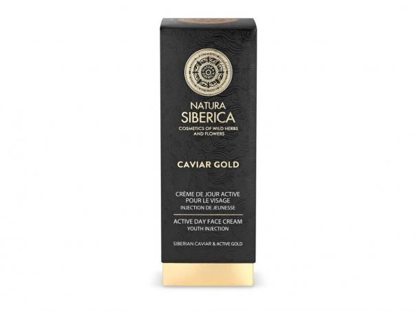 Caviar Gold - Aktívny denný krém na tvár Injekcia mladosti
