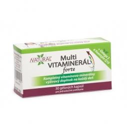 MULTI Vitaminerál FORTE - 30 kapsúl