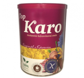 Top Karo instantná kávovinová zmes, dóza 200 g