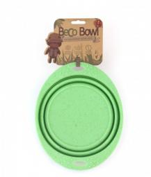 Miska pre psa, cestovná, BecoBowl Travel-green L, EKO