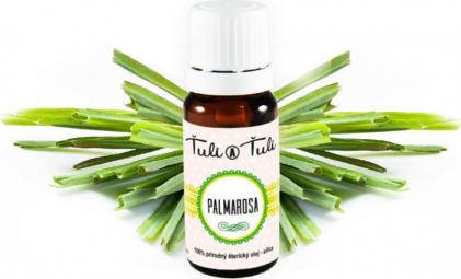 Palmarosa prírodný éterický olej-silica Ťuli a Ťuli