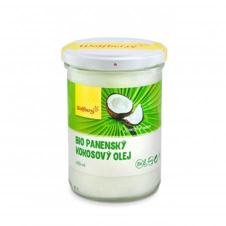 Panenský kokosový olej BIO 400 ml Wolfberry *