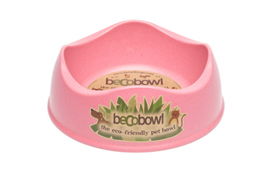 Miska pre psa, BecoBowl, EKO-pink-M