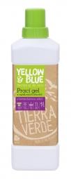 Prací gél z mydlových orechov s levanduľovou silicou 1 l (fľaša)