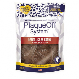 Doplnok výživy pre psy, ProDen PlaqueOff  Dental Bones Bacon 482g
