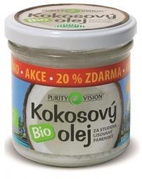 Bio Kokosový olej 100 ml + 20% zdarma