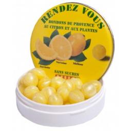 Rendez Vous dia cukríky s citrónom a bylinkami 43g