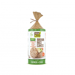 Ryžové chlebíčky chia, quinoa 120 g Rice Up