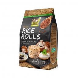 Ryžové minichlebíčky huby, smotana, olivový olej 50 g Rice Up