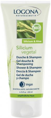 Silicium Vegetal sprchový gél a šampón