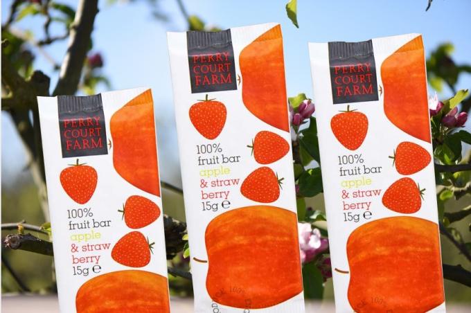 Ovocná tyčinka jablko&jahody 15g