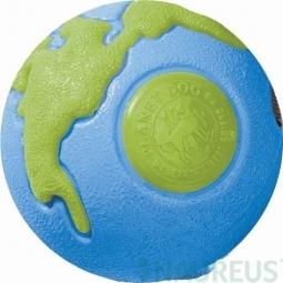 Hračka pre psa PLANET DOG - Orbee-Tuff Lopta modrá a zelená - M