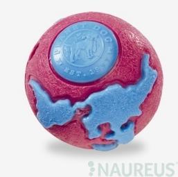 Hračka pre psa PLANET DOG - Orbee-Tuff Loptička rúžová a modrá - L