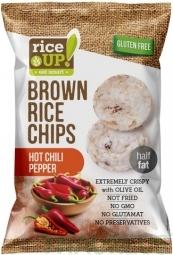 Ryžové chipsy chilli papričky 60 g Rice Up