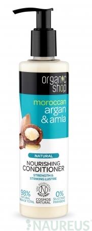 Organic Shop - Argan & Amla - Výživný kondicionér 280 ml