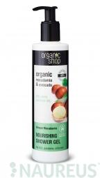 Organic Shop - Keňská Makadámia - Sprchový gél 280 ml