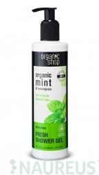 Organic Shop - Mätový dážď - Sprchový gél 280 ml