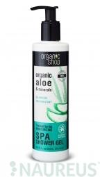 Organic Shop - Termálny prameň - Sprchový gél 280 ml