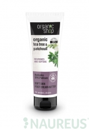 Organic Shop - Barbadoská SPA pedikúra - Maslo na nohy 75 ml