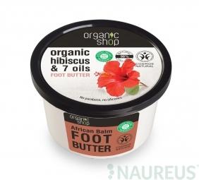 Organic Shop - Maslo na nohy Ibištek a 7 olejov 250 ml