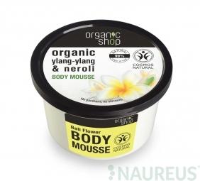 Organic Shop - Kvety z Bali - Telová pena 250 ml