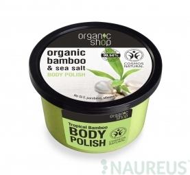 Organic Shop - Tropický bambus - Telový peeling 250 ml