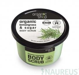 Organic Shop - Citrónová tráva - Telový peeling 250 ml