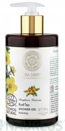 Flora Siberica - Hydratačný sprchový gél - Kurilský čaj